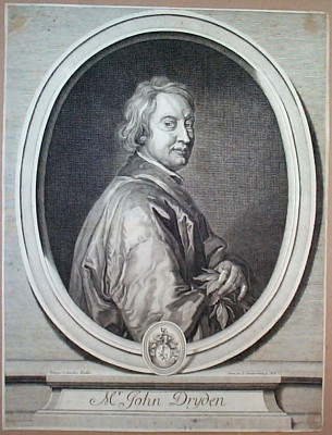 Dryden near end of his life